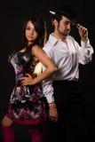 Vestito per il dancing fotografie stock
