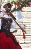 Vestito polacco Fotografie Stock