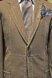 Vestito su misura del ` s degli uomini Fotografie Stock Libere da Diritti