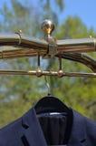 Vestito sul gancio Fotografia Stock