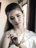 Vestito tailandese 3 Fotografie Stock Libere da Diritti
