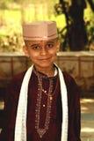 Vestito tradizionale dal ragazzo indiano fotografie stock libere da diritti