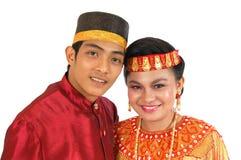 Vestito tradizionale dalla tribù Fotografie Stock