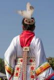 Vestito tradizionale indigeno Fotografie Stock Libere da Diritti