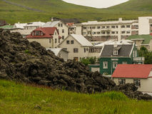 Vestmann-Inseln Island lizenzfreie stockfotos