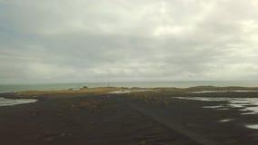 Vestrahorn, Stokksnes, Islanda video d archivio
