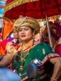 Vestuário hindu tradicional fotos de stock