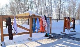 Vestuário sob o céu aberto Fotografia de Stock