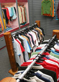 Vestuários fotografia de stock