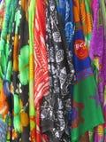 Vestuários brilhantemente coloridos Imagem de Stock