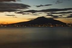 Vesuv stockfotografie