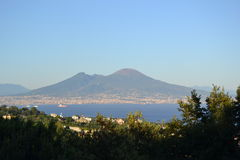 Vesuvio Royalty Free Stock Photography