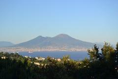 Vesuvio Fotografia de Stock Royalty Free