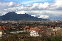 Vesuvio Royalty Free Stock Images