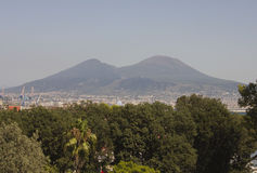 Vesuvio Landscape view, Naples Royalty Free Stock Image