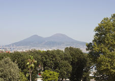 Vesuvio Landscape view, Naples Stock Photo