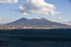 Vesuvio volcano Stock Photos