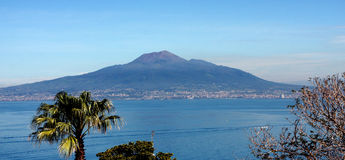 Vesuvio Volcano Naples Italy Stock Photography