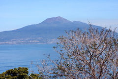 Vesuvio Volcano Naples Italy Royalty Free Stock Images