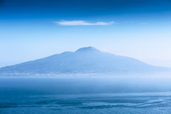 Vesuvius from Amalfi Royalty Free Stock Image