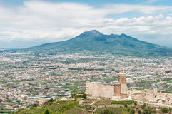 Vesuvius royalty free stock photos