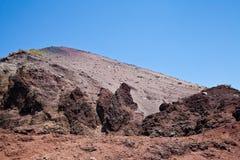 Vesuvius crater Royalty Free Stock Image