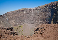 Vesuvius crater Royalty Free Stock Photos