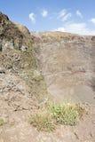 Vesuvius crater Stock Image