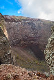 Vesuvius crater Royalty Free Stock Photography