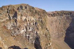 Vesuvius crater Royalty Free Stock Photo