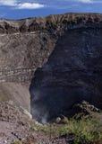 Vesuvius fumaroles Royalty Free Stock Images
