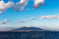 Vesuvius, Italy. Vesuvius volcano in the Italy royalty free stock photos