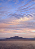 Vesuvius sunrise Royalty Free Stock Photo