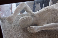 Vesuvius Victim Stock Photo