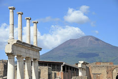 Vesuvius volcano Royalty Free Stock Photos