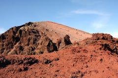 Vesuvius Volcano Crater Italy Royalty Free Stock Photography