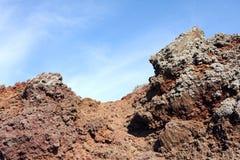 Vesuvius Volcano Crater Italy Royalty Free Stock Image