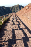 Vesuvius Volcano crater path Italy Royalty Free Stock Images