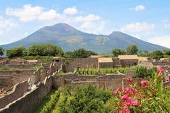 Vesuvius wulkan Zdjęcie Stock