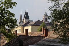 veszprem όψη Στοκ φωτογραφία με δικαίωμα ελεύθερης χρήσης