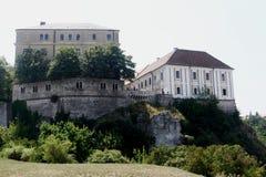 Veszprem castle Stock Image