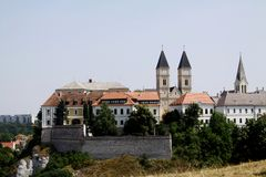 Veszprem castle Stock Photo