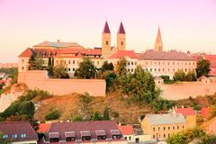 Veszprem, Hungria foto de stock royalty free