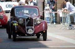 Vet 500 Cs de HEREN Berlinetta in Mille Miglia 2016 Stock Foto's