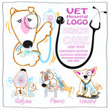 Vet Health care symbol Stock Photography