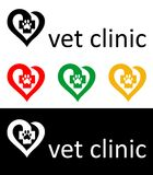 Vet logo Royalty Free Stock Photography