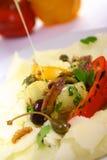 vetables d'olive de pétrole Image libre de droits