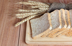 Vete-, bröd- och vetemjöl Fotografering för Bildbyråer