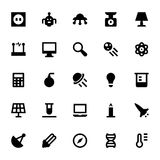Vetenskap och tekniksymbol 8 royaltyfri illustrationer