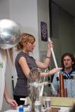 vetenskap serbia för 11 festival Arkivbilder